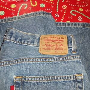Levi's 550 Relaxed Fit Size 34x30 Blue Jeans!